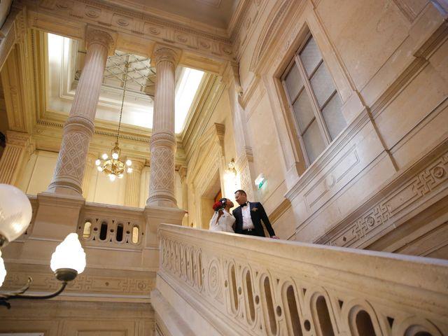 Le mariage de Gérard et Dianne à Paris, Paris 18