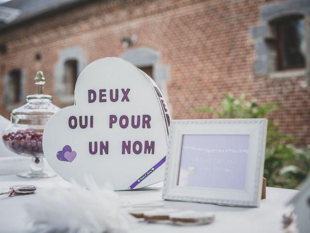 Le mariage de Jérémy et Ingrid à Solesmes, Nord 34