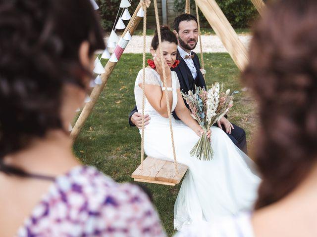 Le mariage de Guillaume et Caroline à Saint-Vincent-des-Bois, Eure 38