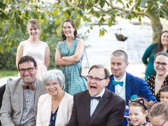 Le mariage de Guillaume et Caroline à Saint-Vincent-des-Bois, Eure 42