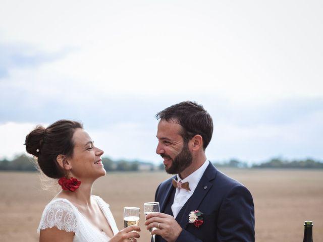 Le mariage de Guillaume et Caroline à Saint-Vincent-des-Bois, Eure 53