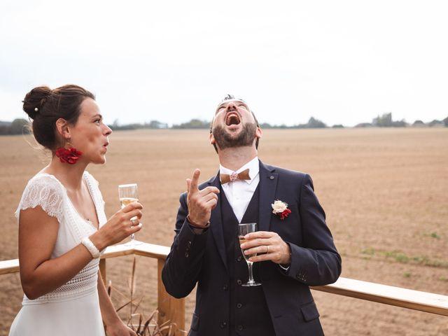 Le mariage de Guillaume et Caroline à Saint-Vincent-des-Bois, Eure 54