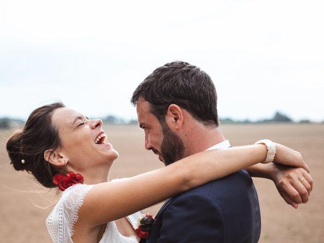 Le mariage de Guillaume et Caroline à Saint-Vincent-des-Bois, Eure 55
