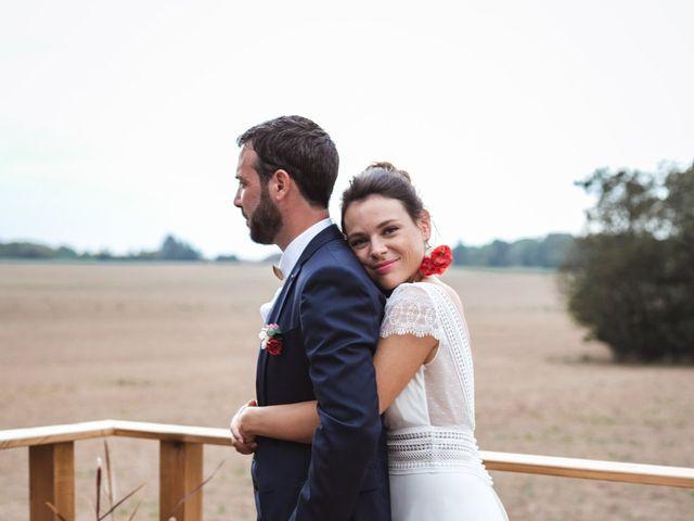 Le mariage de Guillaume et Caroline à Saint-Vincent-des-Bois, Eure 57
