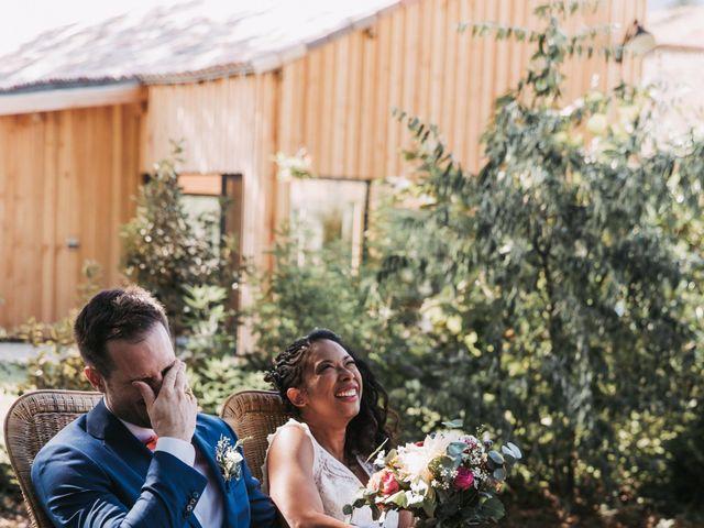 Le mariage de Alex et Sarah à Beaumontois-en-Périgord, Dordogne 29
