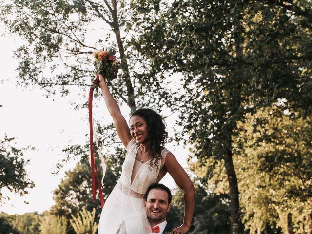 Le mariage de Alex et Sarah à Beaumontois-en-Périgord, Dordogne 56