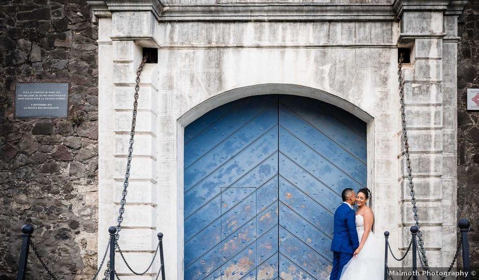 Le mariage de Marc-Olivier et Elodie à Le Lamentin, Martinique