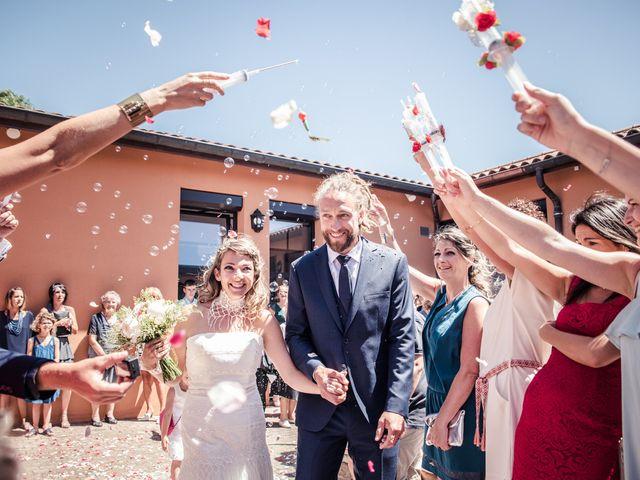 Le mariage de Stéphane et Johanna à Échalas, Rhône 13