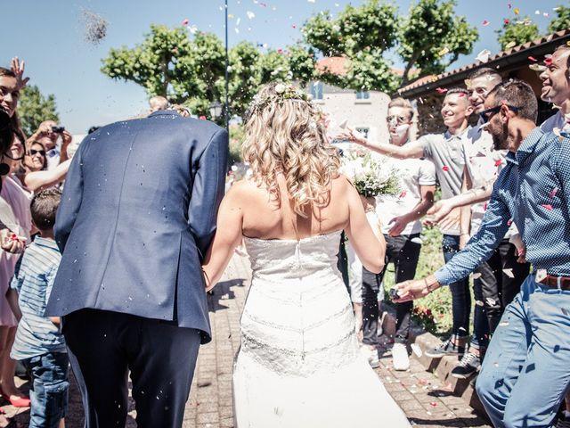 Le mariage de Stéphane et Johanna à Échalas, Rhône 14