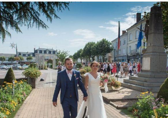 Le mariage de Jérémy et Sonia à Chanzeaux, Maine et Loire 16