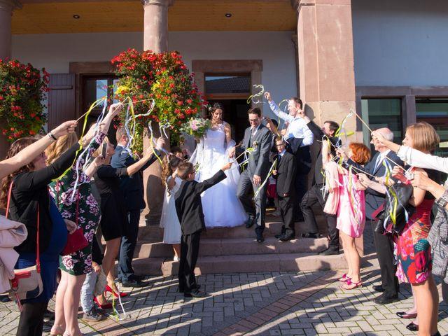 Le mariage de Luc et Lucie à Zellwiller, Bas Rhin 17