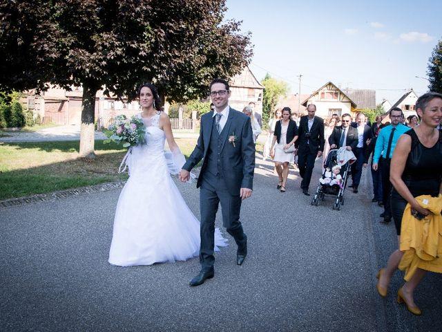 Le mariage de Luc et Lucie à Zellwiller, Bas Rhin 47