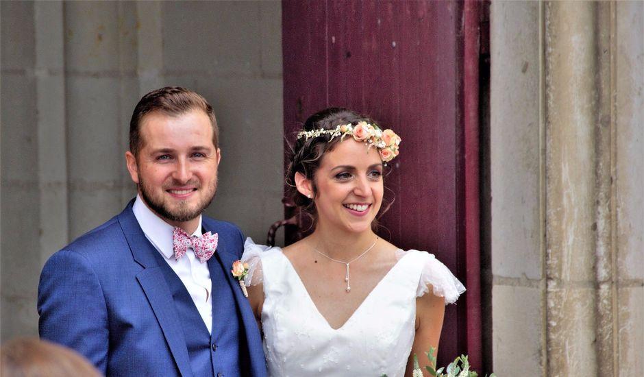 Le mariage de Jérémy et Sonia à Chanzeaux, Maine et Loire