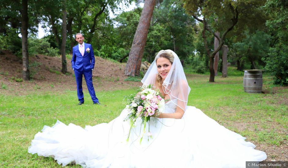 Le mariage de Jérémy et Sarah à Roujan, Hérault
