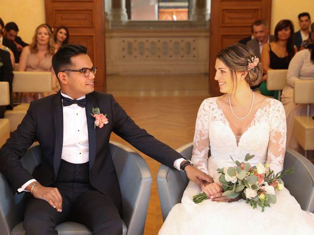 Le mariage de Ziyad et Clémence à Paris, Paris 2