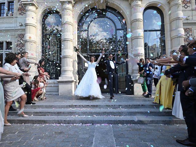 Le mariage de Ziyad et Clémence à Paris, Paris 6