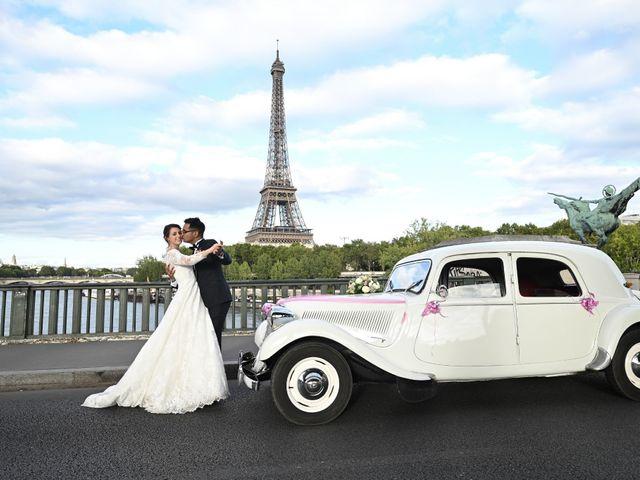 Le mariage de Ziyad et Clémence à Paris, Paris 7
