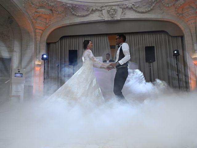 Le mariage de Ziyad et Clémence à Paris, Paris 9