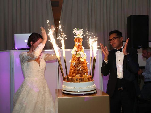 Le mariage de Ziyad et Clémence à Paris, Paris 11