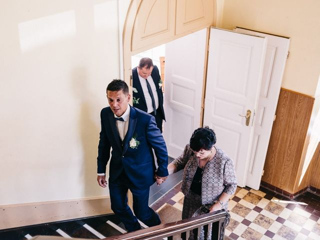 Le mariage de David et Stéphanie à Urmatt, Bas Rhin 9