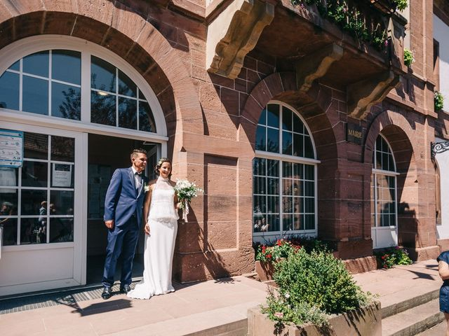 Le mariage de David et Stéphanie à Urmatt, Bas Rhin 14
