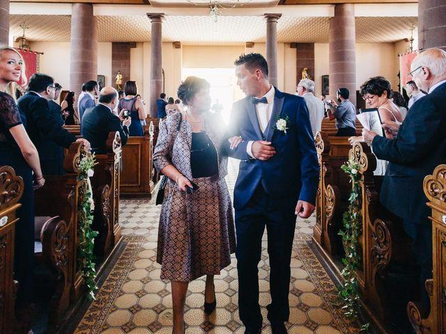 Le mariage de David et Stéphanie à Urmatt, Bas Rhin 15