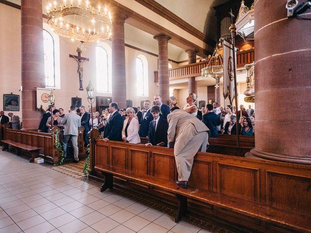 Le mariage de David et Stéphanie à Urmatt, Bas Rhin 17