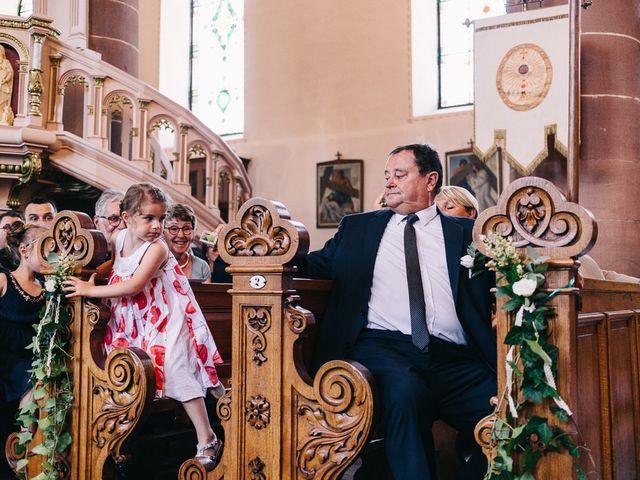 Le mariage de David et Stéphanie à Urmatt, Bas Rhin 21