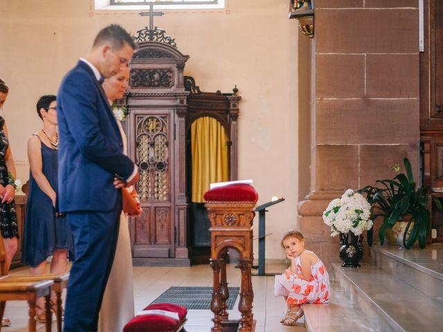 Le mariage de David et Stéphanie à Urmatt, Bas Rhin 24