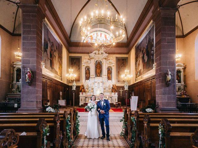 Le mariage de David et Stéphanie à Urmatt, Bas Rhin 26