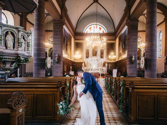 Le mariage de David et Stéphanie à Urmatt, Bas Rhin 27