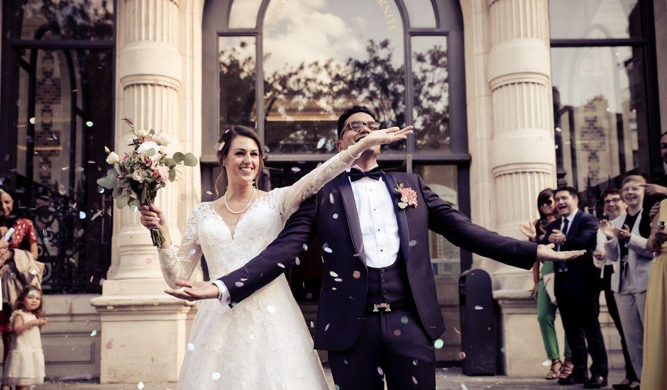 Le mariage de Ziyad et Clémence à Paris, Paris