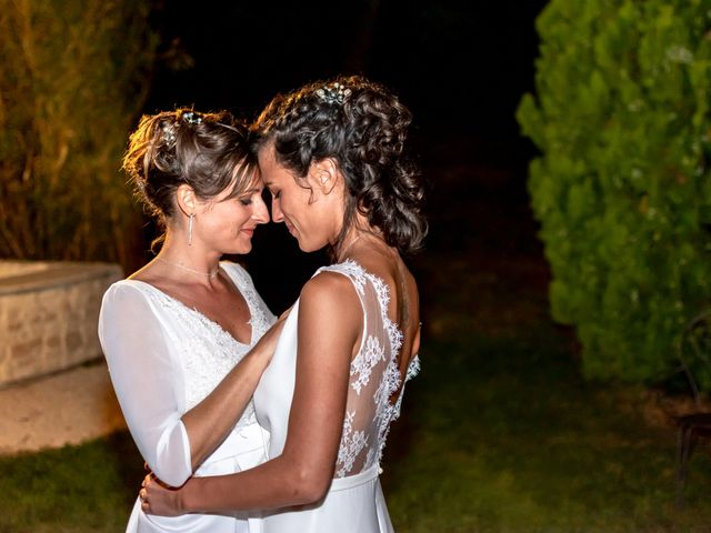 Le mariage de Salomé et Émilie à Pontcharra-sur-Turdine, Rhône 24