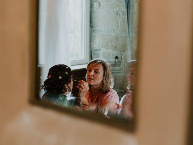 Le mariage de Sandra et Axel à Pleyber-Christ, Finistère 9