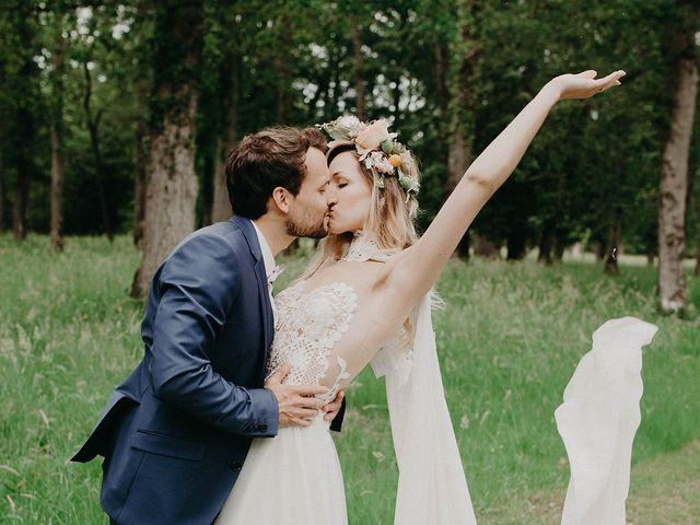 Le mariage de Adrien et Sarah à Ambillou, Indre-et-Loire 4