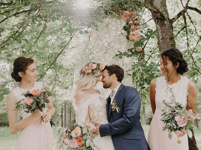 Le mariage de Adrien et Sarah à Ambillou, Indre-et-Loire 15