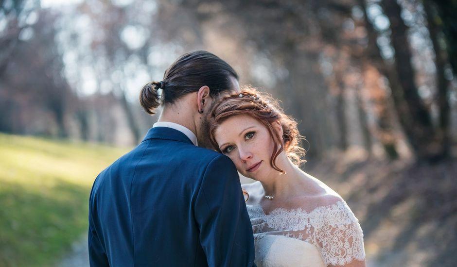 Le mariage de Auphélie et Raphaël à Vignieu, Isère