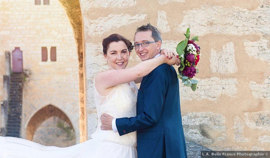 Le mariage de Nicolas et Anne- Cécile à Cahors, Lot