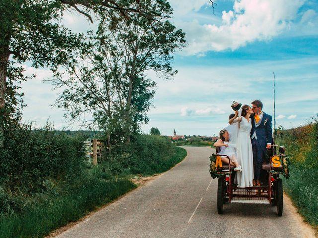 Le mariage de Antoine et Sybille à Bourgogne, Marne 53