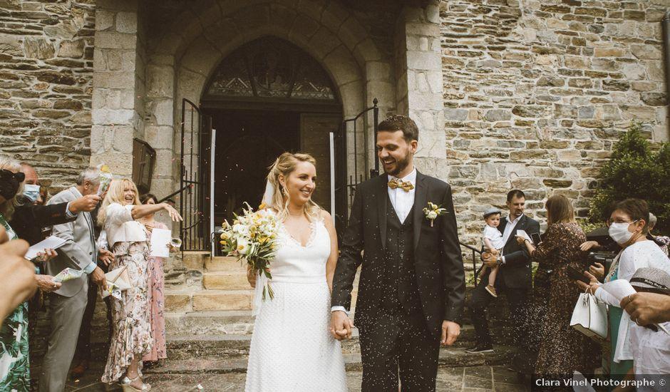Le mariage de David et Justine à Saint-Hippolyte, Aveyron