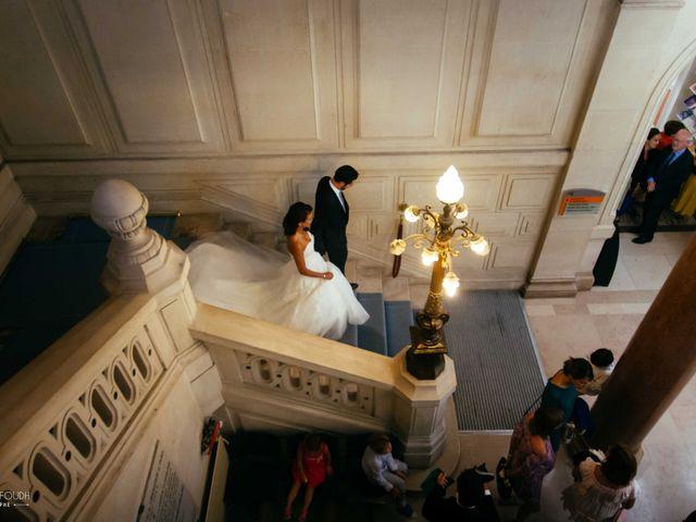 Le mariage de Gautier et Amira à Paris, Paris 4