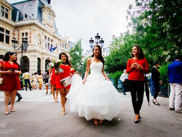 Le mariage de Gautier et Amira à Paris, Paris 5