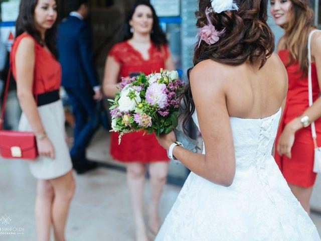 Le mariage de Gautier et Amira à Paris, Paris 10