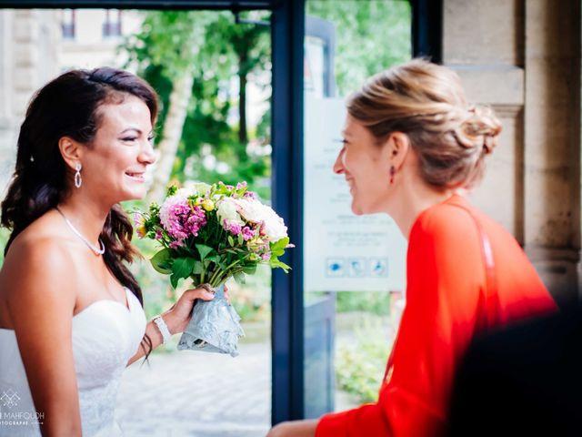 Le mariage de Gautier et Amira à Paris, Paris 11