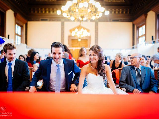 Le mariage de Gautier et Amira à Paris, Paris 15