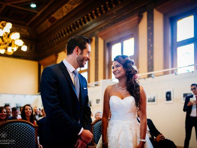 Le mariage de Gautier et Amira à Paris, Paris 17