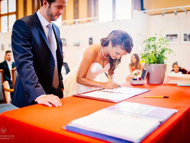 Le mariage de Gautier et Amira à Paris, Paris 18