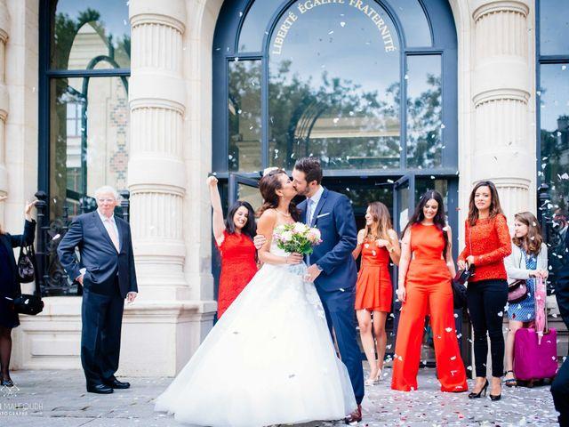 Le mariage de Gautier et Amira à Paris, Paris 1