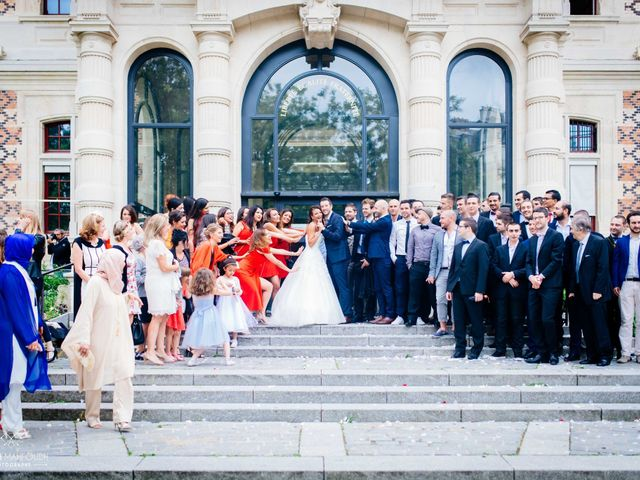 Le mariage de Gautier et Amira à Paris, Paris 25