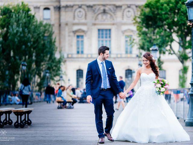 Le mariage de Gautier et Amira à Paris, Paris 38